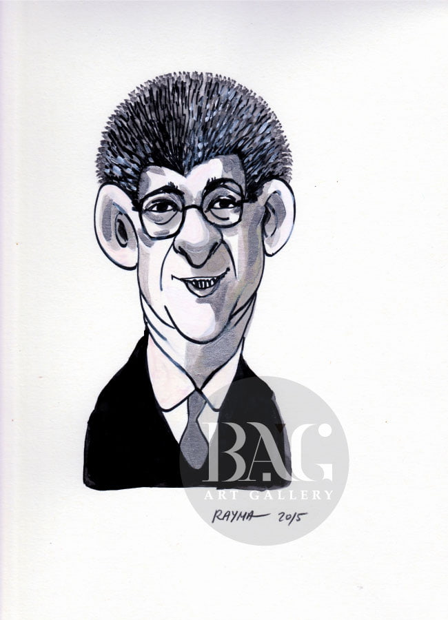 Rayma Cartoons Henry Ramos Allup at BAG