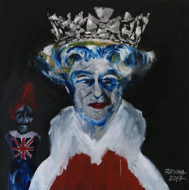 queen elizabeth rayma suprani at BAG